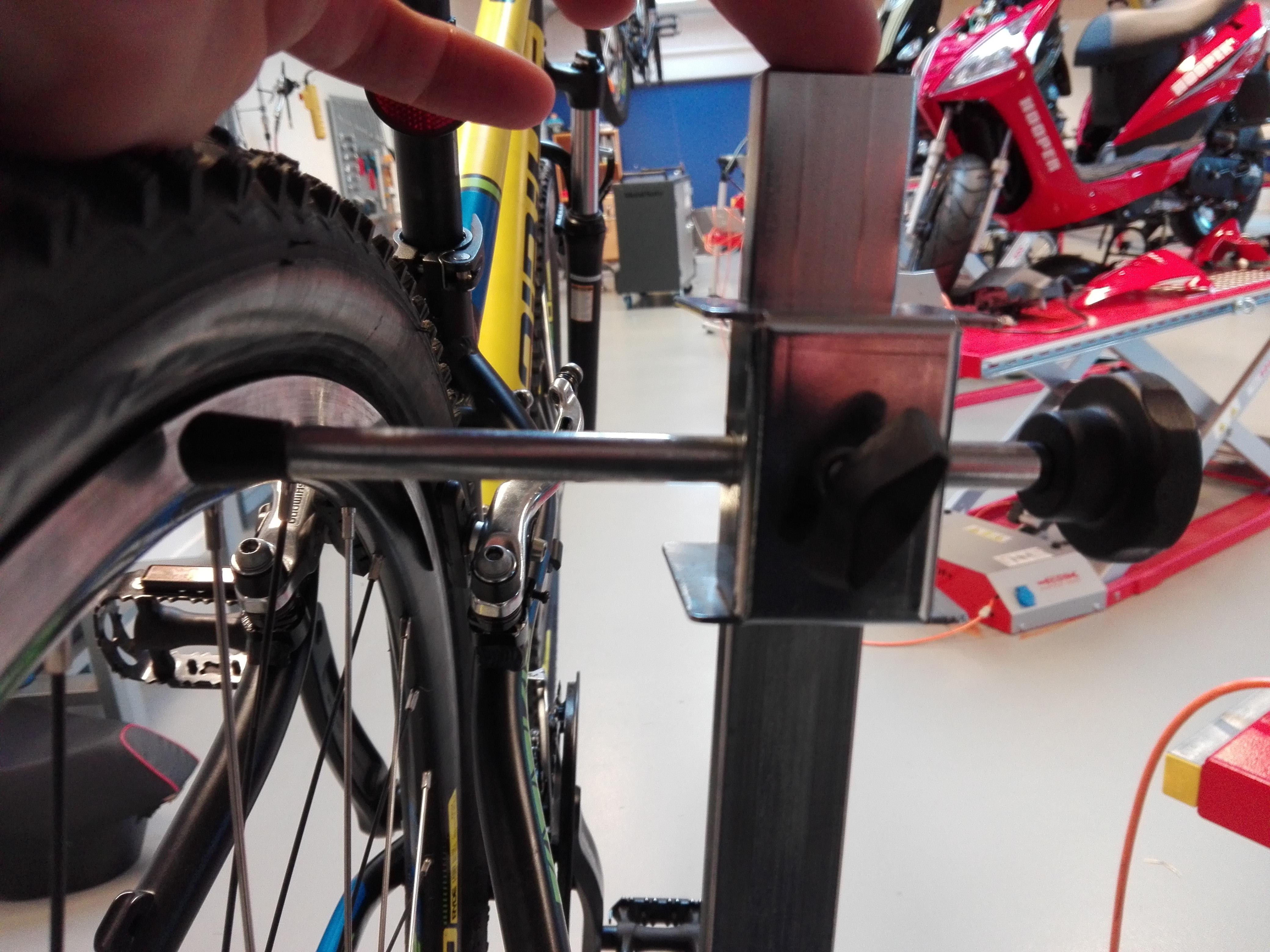 opretning af cykelhjul